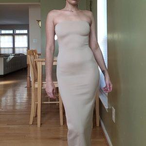 NEW W/tags nastygal Scuba bandeau midi dress
